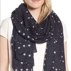 💯✅ Authentic Kate Spade Night Star Scarf 🧣